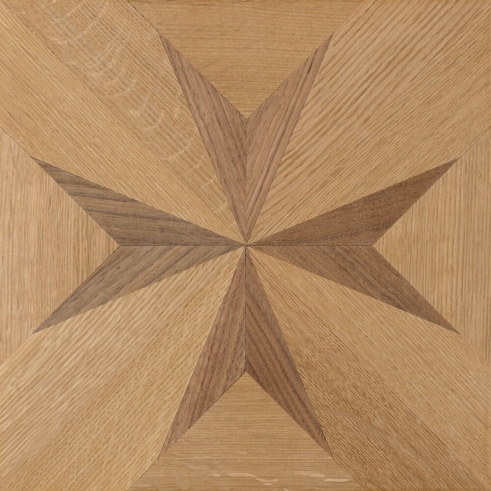 Quarter-Sawn White Oak & American Walnut Edinburgh Parquet | Wood Flooring