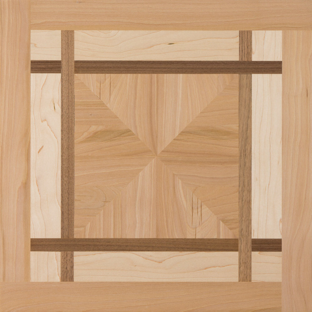 Beech, Maple, and Walnut Pennington Parquet Tile | Parquet Flooring