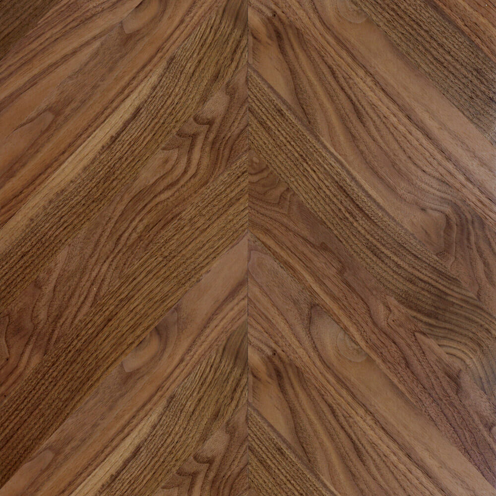 Walnut Chevron Parquet Tile | Parquet Flooring