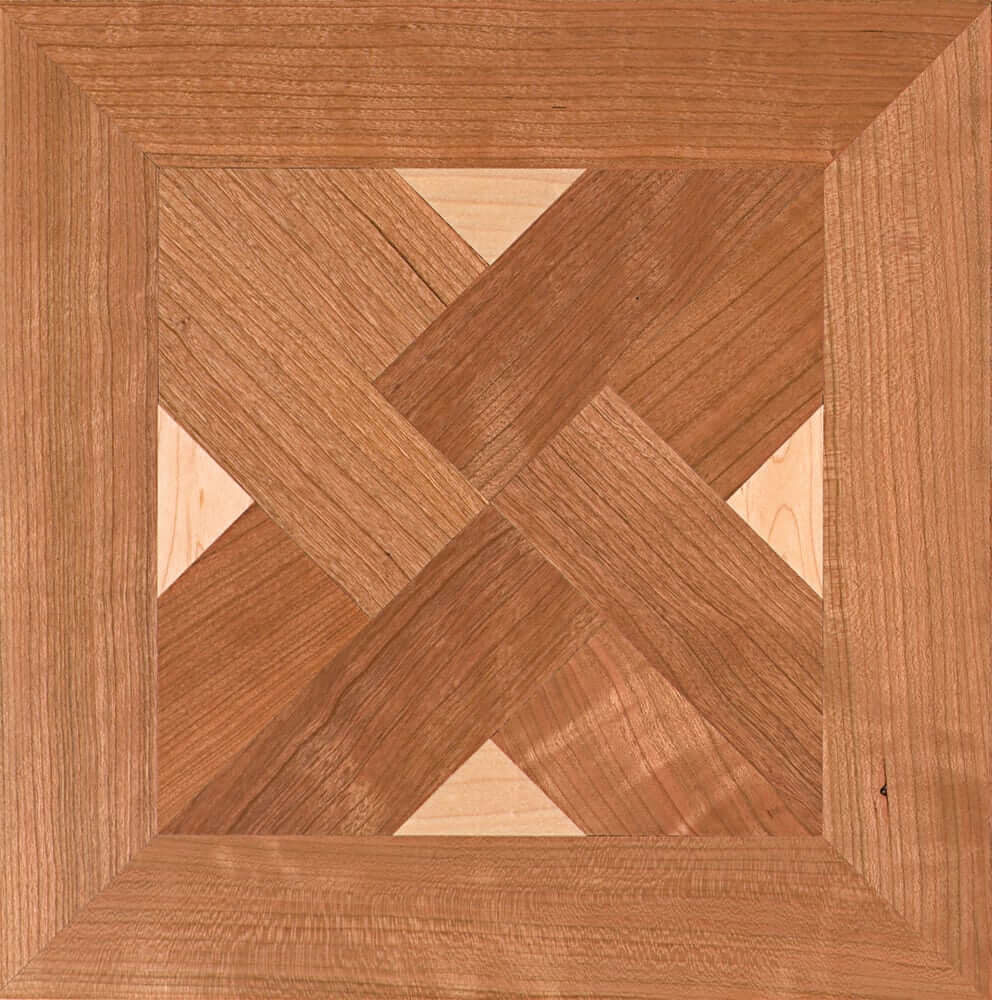 Maple & Red Oak Barnaby Parquet Tile | Parquet Flooring