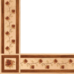 Bellarosa Wood Border