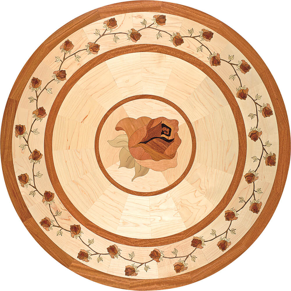 Bellarosa Wood Medallion