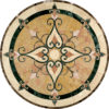 Cassina Limestone & Marble Medallion | Tile Floor Medallion