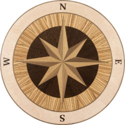 Jupiter Wood Medallion