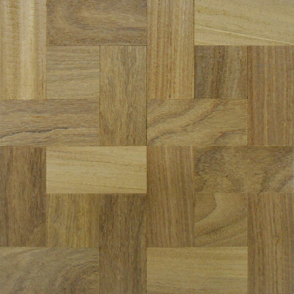 Custom Haddon Hall Wood Parquet Tile in Afromosia | Parquet Flooring