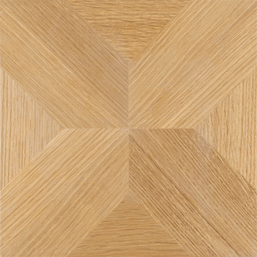 Quarter-Sawn White Oak Edinburgh Parquet Tile | Parquet Flooring